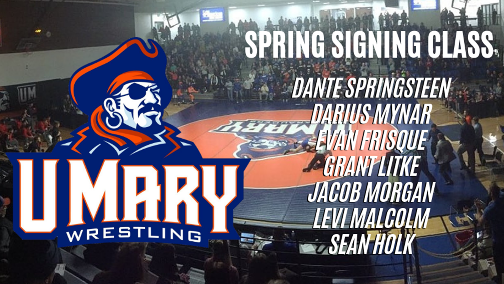 UMary Wrestling Adds Seven New Recruits for 2019-2020 Season